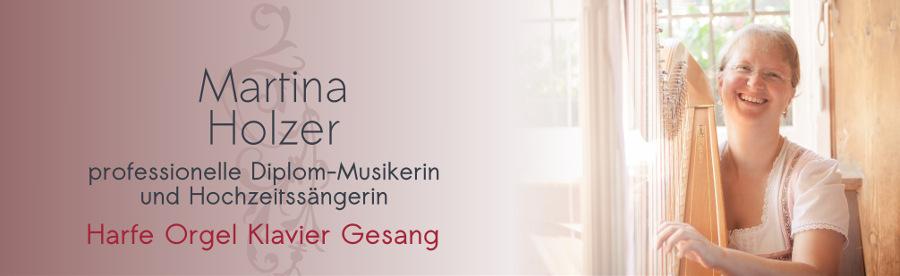 Martina Holzer Taufe Tauffeier Harfe Orgel Lieder Duo